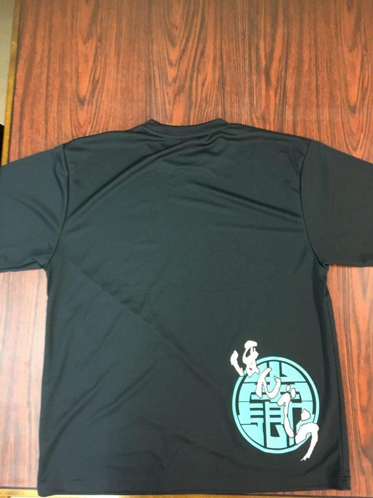 太鼓祭り用ドライTシャツ